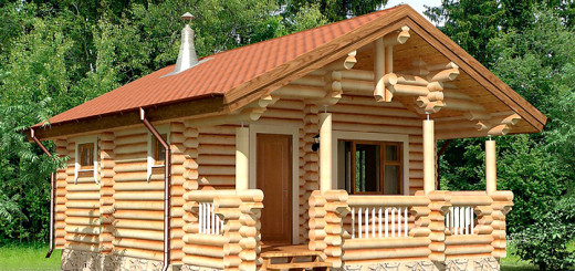 Строительство крыши в бане своими руками: выбор материала