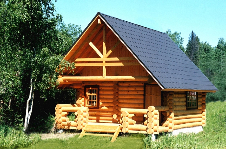 Баня из бревна: надежный метод комфортной постройки