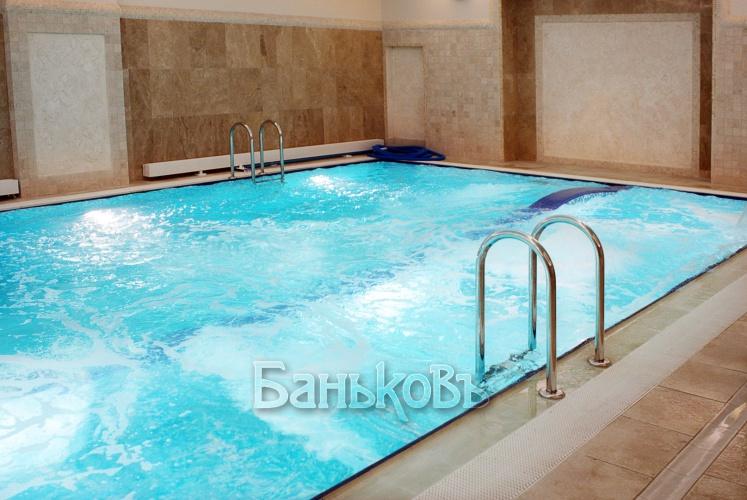 Бани с бассейном