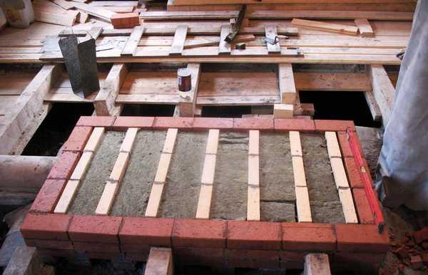 Как сделать фундамент для печки в баню?