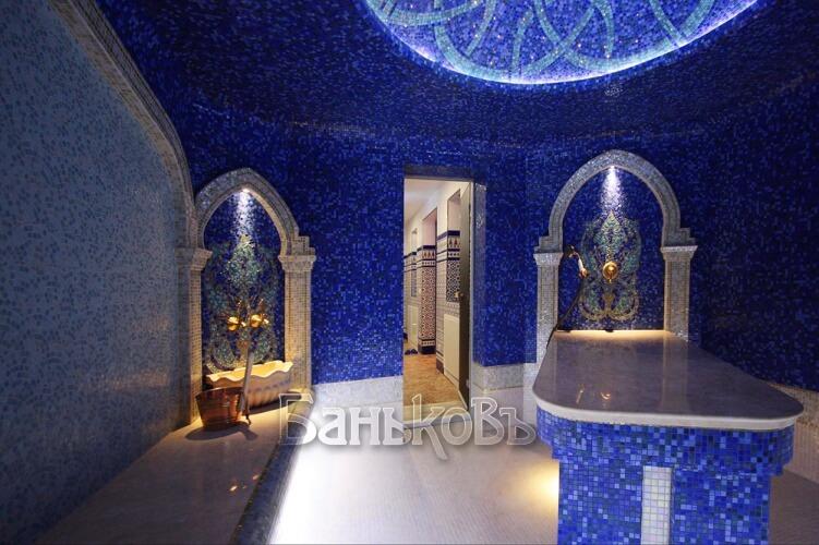 Красочная турецкая баня