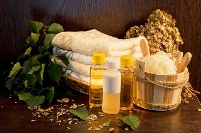 Полезные свойства эфирных масел в бане