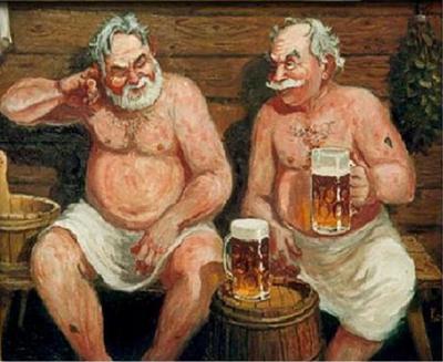 Пиво в бане – польза или вред