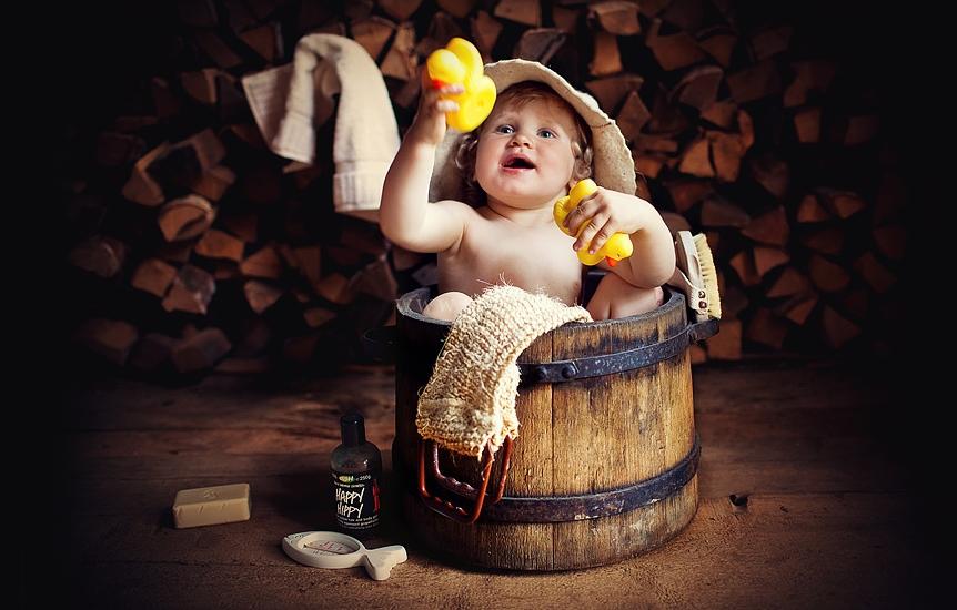 Как приучить ребенка к бане